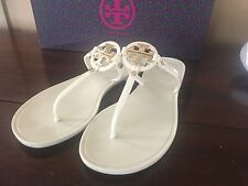 Tory Burch Mini Miller Crystal Jelly Flip Flop Slide Sandal Shoes Flats sz6