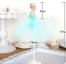 FROZEN ELSA Large PRINCESS Cake/Cupcake Toppers Party Supplies Disney Princess