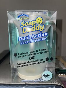 Soap Daddy Dual Action Dispenser - Style Collection