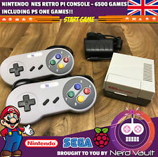 Nintendo NES Mini - 6500+ Games - Retropie - Raspberry Pi 3 Emulator - Retro pi