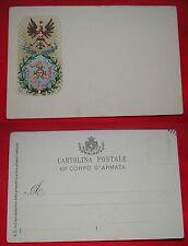 CARTOLINA XII CORPO D'ARMATA - SICILIA - #2# COLORI