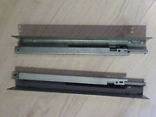 Hülsta Now1 Schubladenschienen, 24 x 6 x 3,5 cm, sehr selten und gut erhalten!