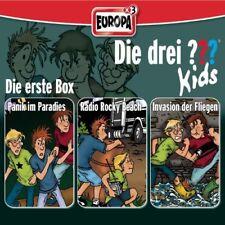 3 CDs * DIE DREI ??? (FRAGEZEICHEN) KIDS - BOX 1 - FOLGEN 1 - 3  # NEU OVP =