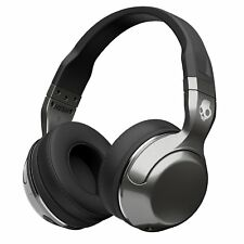 Skullcandy Hesh 2 Bluetooth Wireless Over-Ear Headphones, Microphone Silver/Blk