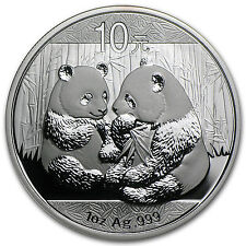 2009 1 oz Silver Chinese Panda Coin - SKU #48441