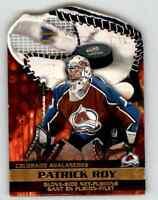 2002-03 Mcdonald's Pacific Glove-Side Net-Fusions Patrick Roy #1