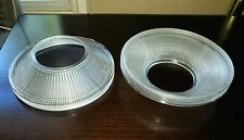 Holophane Industrial Vintage Diffuser Shade Caps Set of Two