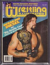 Pro Wrestling Illustrated May 1995 Diesel VG 042516DBE
