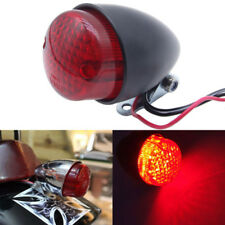 3 Wires Motorcycle Tail Brake Stop Light Rear Light Lamps For Harley Cafe Racer