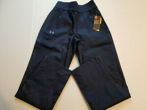 WOMENS UNDER ARMOUR STORM INFRARED SNOW PANTS NAVY BLUE 1247771 410 Small $130