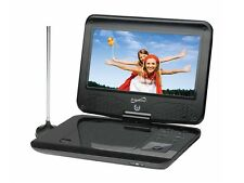 "SUPERSONIC SC-259 9"" Portable/Rechargeable DVD Player +TV Tuner +USB & SD Card"