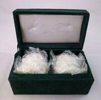 NEW NIB Godinger Silver Treasures Silver-Plated Pine Cone Salt & Pepper Shakers