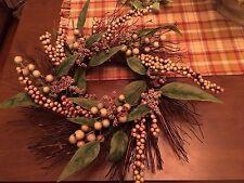 "16"" Primitive Twig Wreath Door Organic Rustic Country"