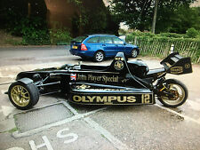 FORMULA 1 F1 JPS SPORTCYCLE TRIKE ROAD LEGAL HONDA BLACKBIRD 1200 POWERED LOOK!!