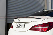 AMG Style Rear Spoiler For MY13-18 Mercedes-Benz C117 CLA-Class (GLOSS BLACK)