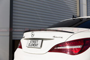 AMG Style Trunk Spoiler For 2013-2018 Mercedes-Benz C117 CLA-Class (PEARL BLACK)