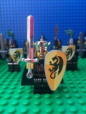 Lego Kingdoms Dragon Army Soldier Knights Hoods Minifigs Castle 14 Minifigures