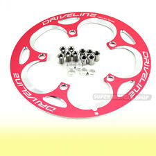 Driveline Chain Guard 56T, BCD 130mm, 162g, Pink