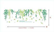 DREAM'S GARDEN VINE BIRDS Wall Sticker Removable Quote Vinyl Art Decal DIY