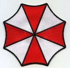 FANCY DRESS HALLOWEEN COSTUME PATCH: Resident Evil UMBRELLA CORPORATION LOGO ID