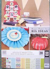 12x18 Scrapbooking Cardstock Project Pad for Cricut Expression Machine