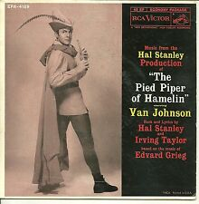 """""""Music from The Pied Piper of Hamelin"""" Van Johnson / 7"""" Record / RCA  #EPA-4189"""