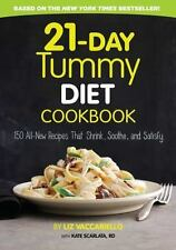 21-Day Tummy Diet Cookbook: 150 All- New Recipes Paperback Book