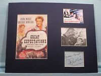 "Charles Dickens - ""Great Expectations"" and John MIlls autograph as Pip"