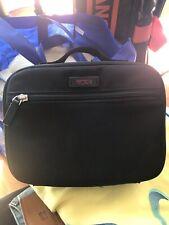 TUMI Hanging Travel Kit Toiletry Bag Black Ballistic 8.5 X 5.5 Durable Preowned