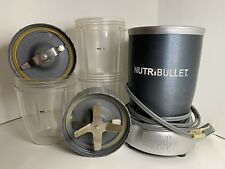 NutriBullet Magic Bullet Plus Extras One Mug With Handle 3 Cups Two Blender Tops