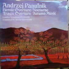 RHS 306 Panufnik heroico obertura, Nocturne, Obertura trágica, música de otoño/H...