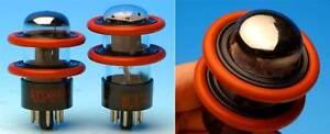 4 DuoDAMP TUBE AMP DAMPERS FOR 6SN7/6SL7/GZ34/7591/6V6/5692/6C10/6N9P/6X5
