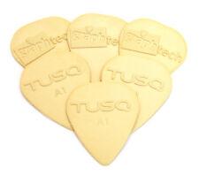 (6) Graph Tech Tusq Tone .68mm A1 Guitar/Bass Picks PQP-0068-V6
