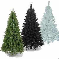 4ft 120cm long Luxury Artificial Christmas Tree Green White Black Variation