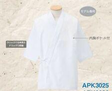 Kazen White Sushi Uniform Made In Japan