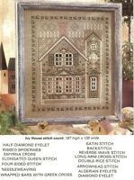 VICTORIAN HOUSE  - CROSS STITCH PATTERN ONLY   GU - RUS