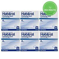 Habitrol 4mg FRUIT Nicotine Gum - 2,304 pcs - 6 BULK Boxes - STOP Smoking NOW