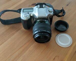 Pentax ist DL 6.1 Megapixel Digital SLR Camera with Pentax 18-55mm AF Lens