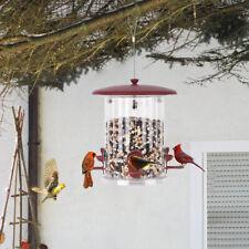 Bolite Wild Bird Feeders Vintage Water Proof Hanging Feeder Seed Food Outdoor