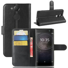 """Custodia cover FLIP case libretto stand+tasche BOOKLET per Sony Xperia XA2 5.2"""""""