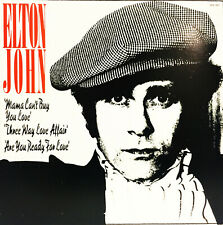 ELTON JOHN 1979 CAN'T BUY ME LOVE THE THOM BELL SESSIONS 33 VINYL LP RECORD EX