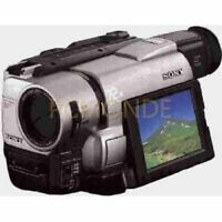 Sony CCD-TRV85 Hi8 8mm Hi-Fi NTSC Stereo Video Camera Handycam 3.5 LCD