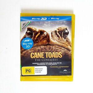 Cane Toads Movie 3D Bluray Movie Free Postage Blu-ray - True Story Australian