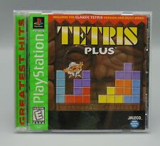 Tetris Plus (Sony PlayStation 1, 1996) PS1 Greatest Hits