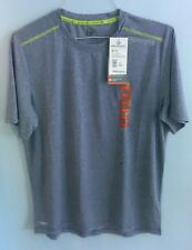 Free Country Men's sz Small S Navy Fcxtreme Athletic Shirt Wicking Breathable