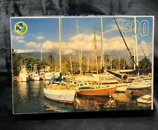 """Leap Year Puzzle 500 Piece Luhaina, Hawaii 18"""" x 14"""" Brand New Sealed"""