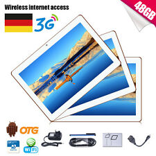 10.1 ZOLL HD TABLET PC ANDROID4.4 QUADCORE 16GB Dual SIM/Cam 3G WIFI GPS OTG BT