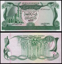 LIBIA 1 DINAR (P44a) N. D. (1981) UNC