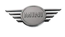 Genuine MINI F55 F56 F57 Cabrio Gloss Black Rear Badge Emblem Plaque 51142465242
