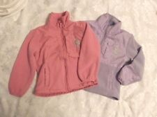 US Polo Assn Girls Stand up Collar Sweaters Size 5/6 Pink Light Purple 2